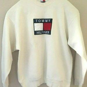 Vintage Tommy Hilfiger Bootleg Sweatshirt Sz 2XL